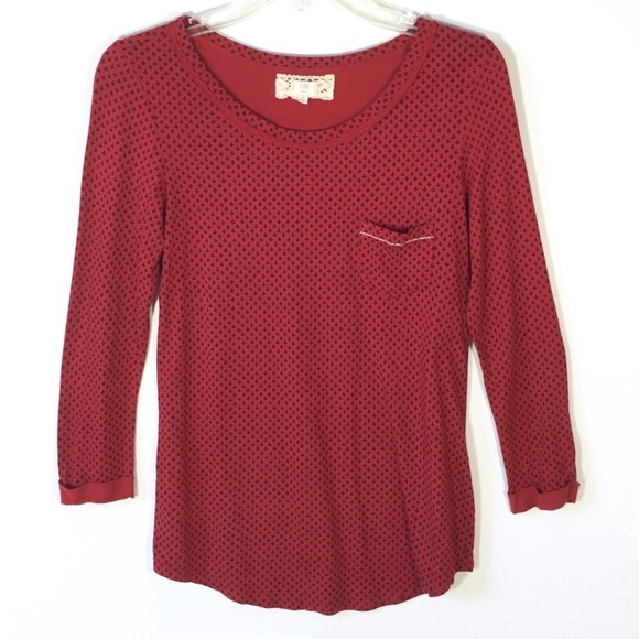 Anthropologie Tops - Anthropologie t.la Shirt Long Sleeve Casual Top